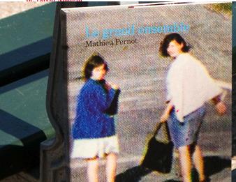2009-08-13 04 : susanna shannon + catherine houbart : design du livre de mathieu pernod : le point du jour éditeur : photo loren leport