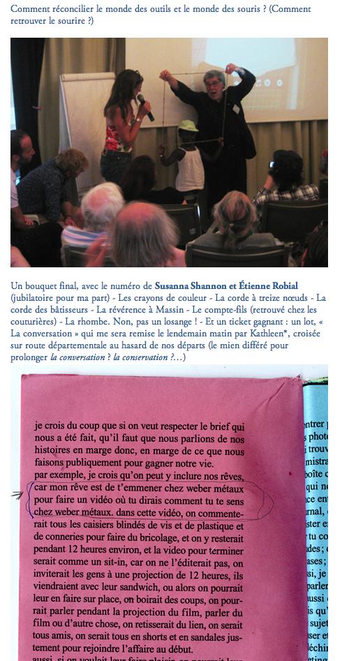 2011-09-13 13 rencontres de lure : susanna shannon et étienne robial : la conversation