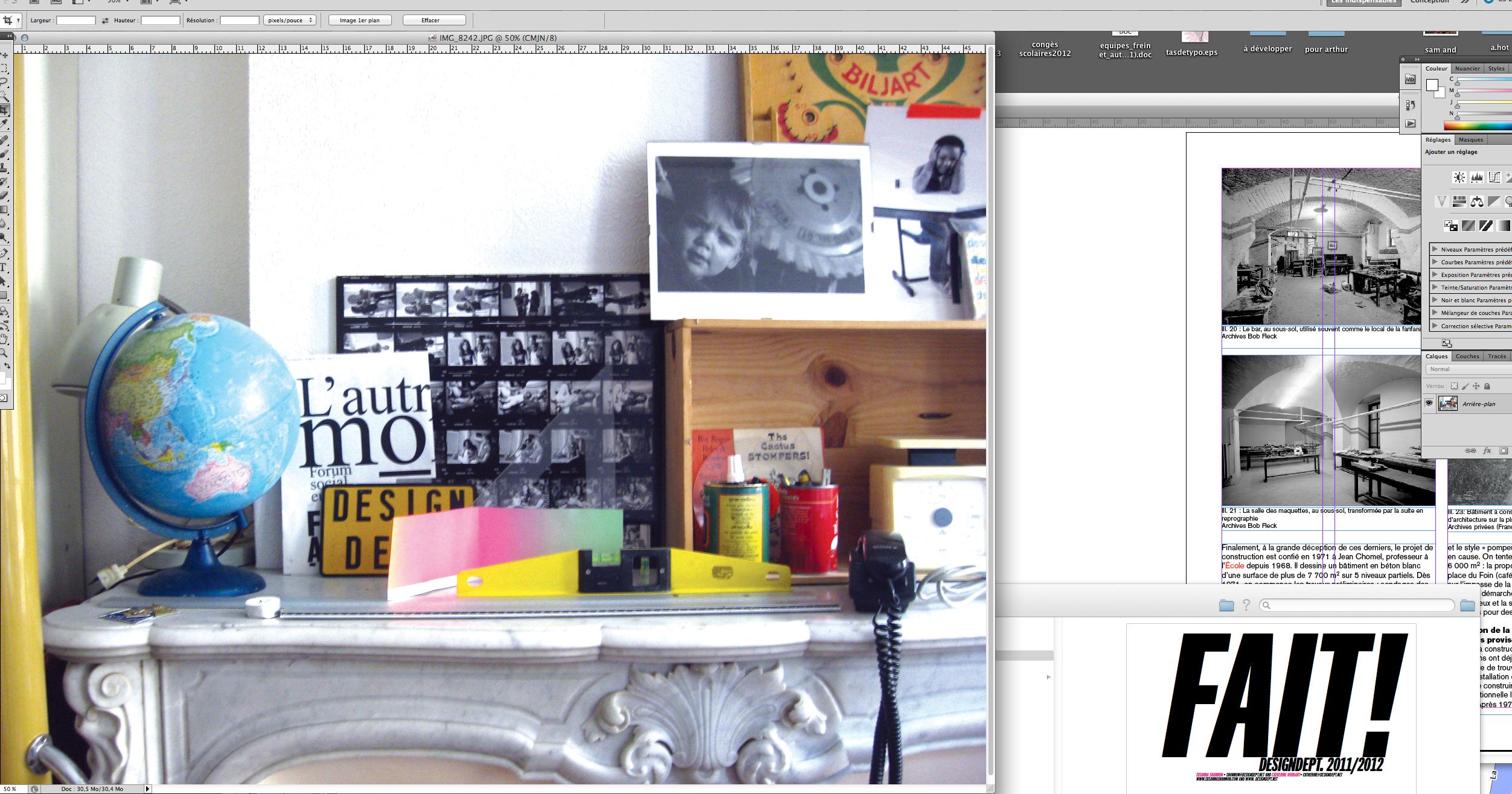 2013 design dept. vue du bureau
