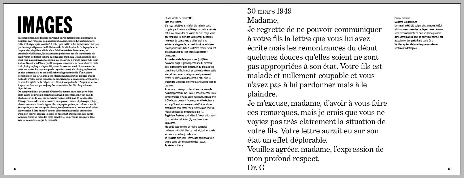 2013 shannon houbart design dept. : point du jour éditeur : l'asile des photographie : prix nadar
