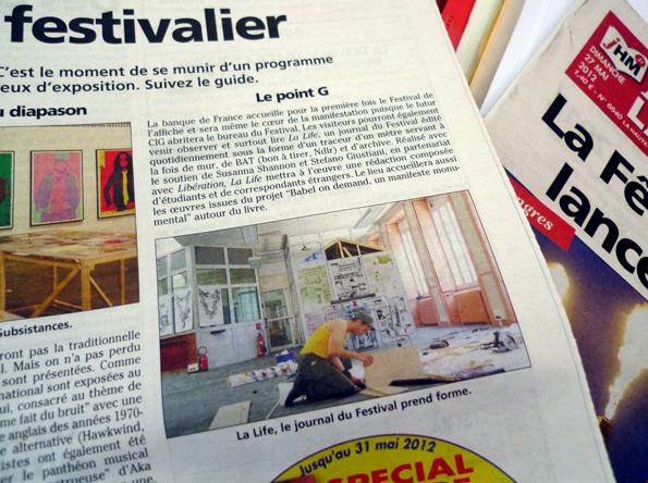 shannon : hervy : giustiniani : la life : quotidien du festival de chaumon : 2012 : c