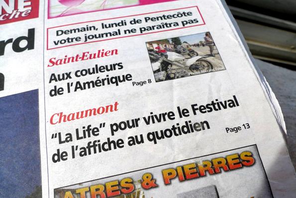 shannon : hervy : giustiniani : la life : quotidien du festival de chaumon : 2012 : e