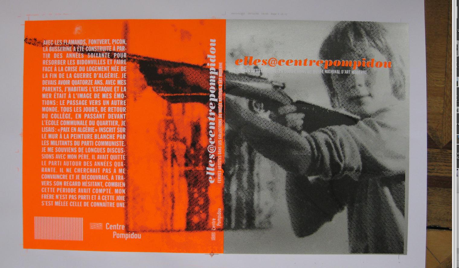 shannon : houbart : design du catalogue elles@centrepompidou:2009-2010 b