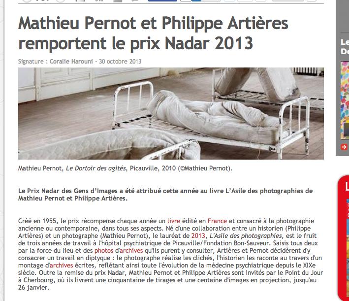 shannon : houbart :  prix nadar : l'asile des photographies : le point du jour éditeur