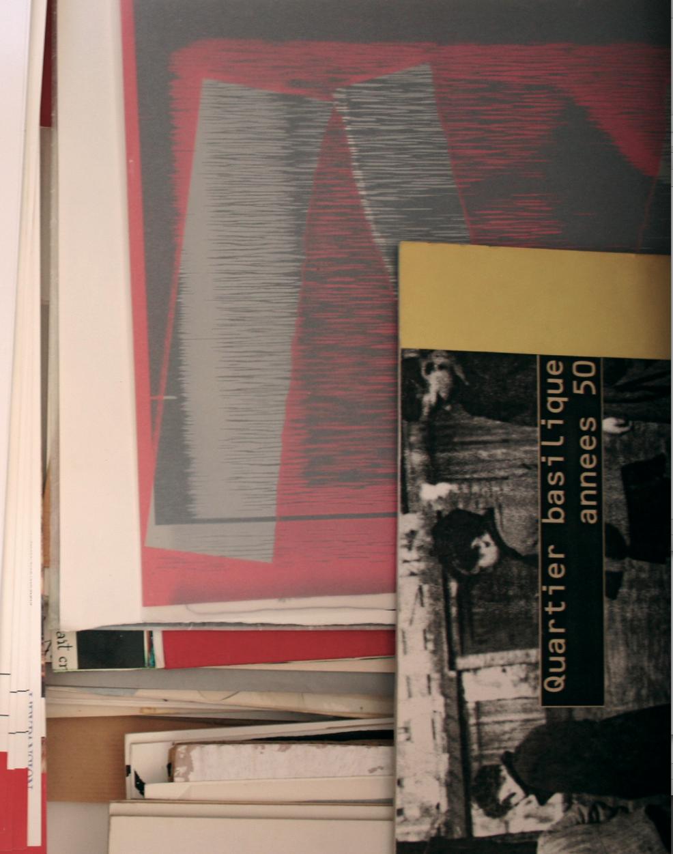 shannon : quartier basilique années 50 : exposition de rue dans la ville de saint-denis : agence urcom jean-yves le gourriérec : aurélia mazauric